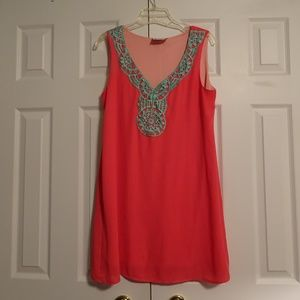 Coveted Clothing Women's Sleeveless Dress Size M